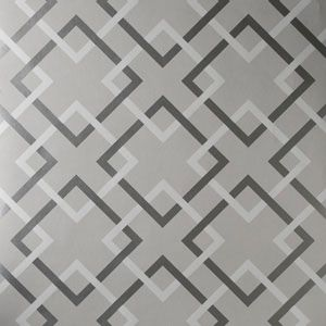 50174W CARREFOURS French Grey 04 Fabricut Wallpaper