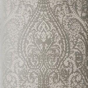 50172W CACHEMIRE Silver 07 Fabricut Wallpaper