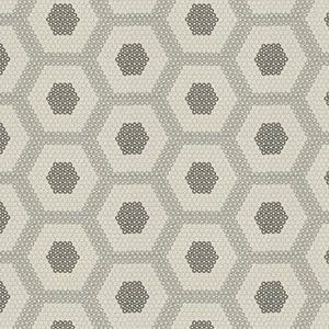 CHEMISTRY Pewter Fabricut Fabric