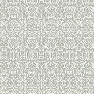ION DAMASK Sagebrush Fabricut Fabric