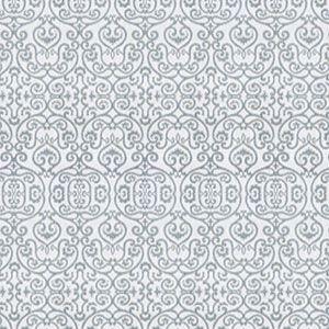 ION DAMASK Tidewater Fabricut Fabric