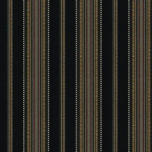 WASCO STRIPE Black Fabricut Fabric