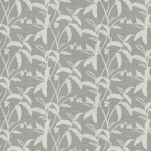 MARED BOTANICAL Silver Fabricut Fabric
