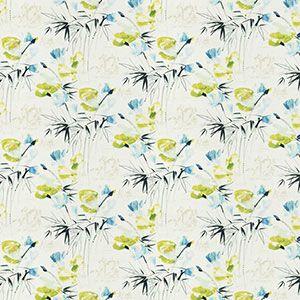 9467103 FLORAL POND Bluegrass Fabricut Fabric
