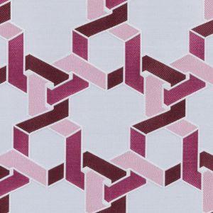 15649-224 DILEMMA Berry Duralee Fabric