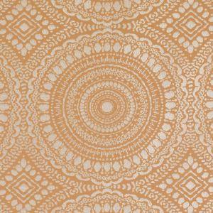 15655-35 MERMOZ Tangerine Duralee Fabric