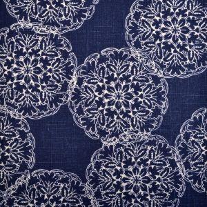 21034-193 DANDA Indigo Duralee Fabric