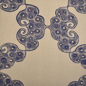 21036-193 KINVA Indigo Duralee Fabric