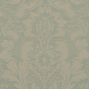BU16391-24 SHILINS DAMASK Celadon Duralee Fabric