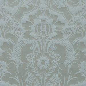 BU16391-619 SHILINS DAMASK Seaglass Duralee Fabric