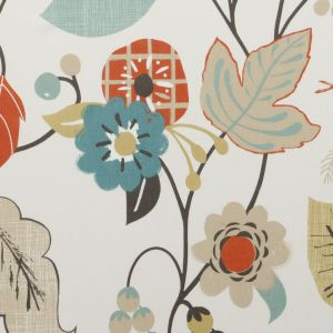 F0591-1 FOLIA Autumn Clarke & Clarke Fabric