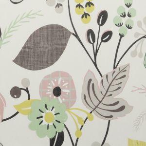 F0591-4 FOLIA Sorbet Clarke & Clarke Fabric
