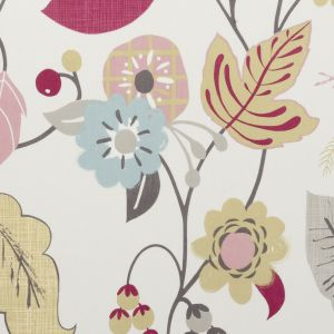 F0591-5 FOLIA Summer Clarke & Clarke Fabric