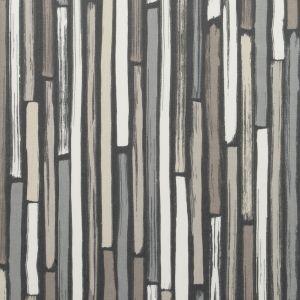 F0593-2 MARCELLE Charcoal Clarke & Clarke Fabric