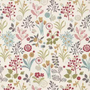 F0991-4 FRIDA Pastel Clarke & Clarke Fabric