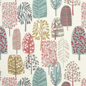F0992-4 TRAD Pastel Clarke & Clarke Fabric