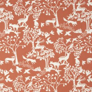 F0993-3 TRAD Cinnamon Clarke & Clarke Fabric
