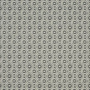 F0995-1 GOTSKA Charcoal Clarke & Clarke Fabric