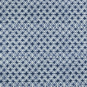 F1011-4 BATIK Indigo Clarke & Clarke Fabric