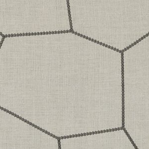 HA61245-606 GEORAFFE Linen Charcoal Highland Court Fabric