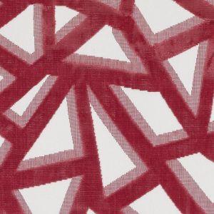 HU15846-746 AZTEC VELVET Geranium Highland Court Fabric