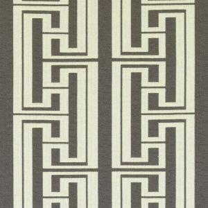 SU15882-174 HUDSON STRIPE Graphite Duralee Fabric