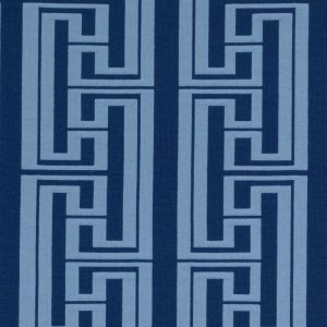 SU15882-52 HUDSON STRIPE Azure Duralee Fabric