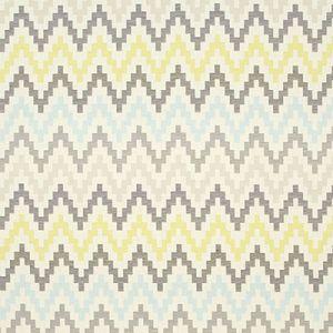 F0996-1 KLAUDIA Chartreuse Clarke & Clarke Fabric