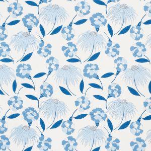 177852 BOUQUET TOSS Afternoon Blue Schumacher Fabric