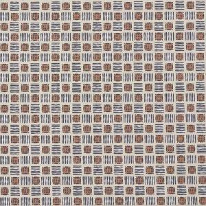 177860 MOTTLEY GRID Wren Schumacher Fabric