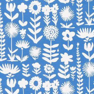178251 WILD THINGS Blue Schumacher Fabric