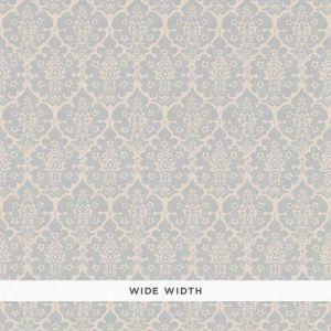 5008034 BURLEY Orpington Blue Schumacher Wallpaper
