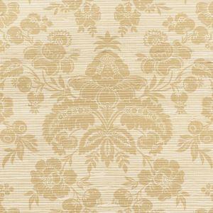 5010121 SIMONE GRASSCLOTH GOLD Schumacher Wallpaper