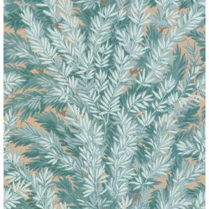 100/1001-CS FLORENCECOURT Teal Cole & Son Wallpaper