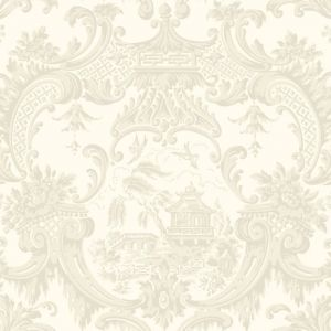 100/3010-CS CHIPPENDALE CHINA Ivory Cole & Son Wallpaper