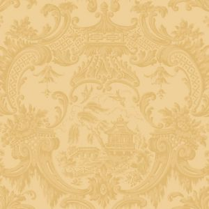 100/3014-CS CHIPPENDALE CHINA Yellow Cole & Son Wallpaper
