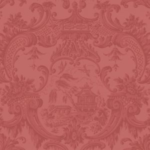 100/3015-CS CHIPPENDALE CHINA Red Cole & Son Wallpaper
