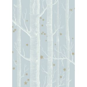 103/11051-CS WOODS & STARS Powder Blue Cole & Son Wallpaper