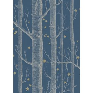 103/11052-CS WOODS & STARS Midnight Cole & Son Wallpaper