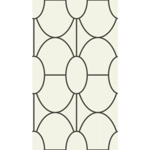 105/6026-CS RIVIERA Black And White Cole & Son Wallpaper