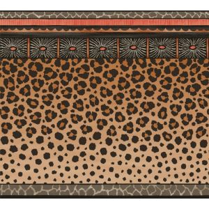 109/13060-CS ZULU BORDER Red Brown Cole & Son Wallpaper