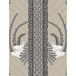 109/3013-CS JABU Linen Black Cole & Son Wallpaper
