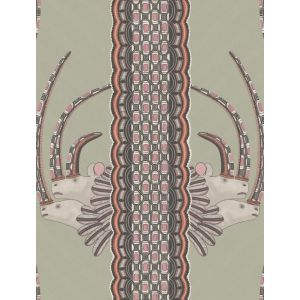 109/3017-CS JABU Olive Pink Cole & Son Wallpaper