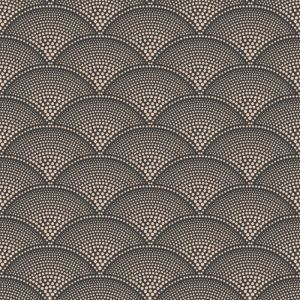 112/10033-CS FEATHER FAN Charcoal Bronze Cole & Son Wallpaper