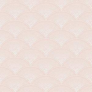 112/10035-CS FEATHER FAN Plaster Pink Cole & Son Wallpaper