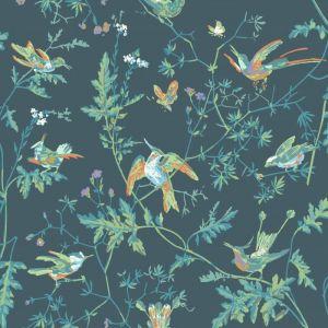 112/4014-CS HUMMINGBIRDS Viridian Cole & Son Wallpaper