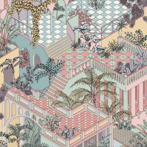 112/6023-CS MIAMI Pastel Cole & Son Wallpaper