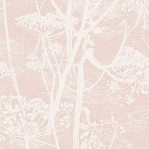 112/8028-CS COW PARSLEY Plaster Pink Cole & Son Wallpaper