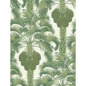 113/1004-CS HOLLYWOOD PALM Leaf Green Cole & Son Wallpaper