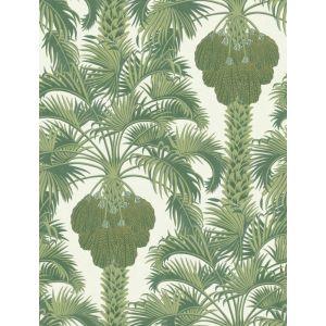 113/1004-CS HOLLYWOOD PALM Leaf Green Cole & Son Wallpaper